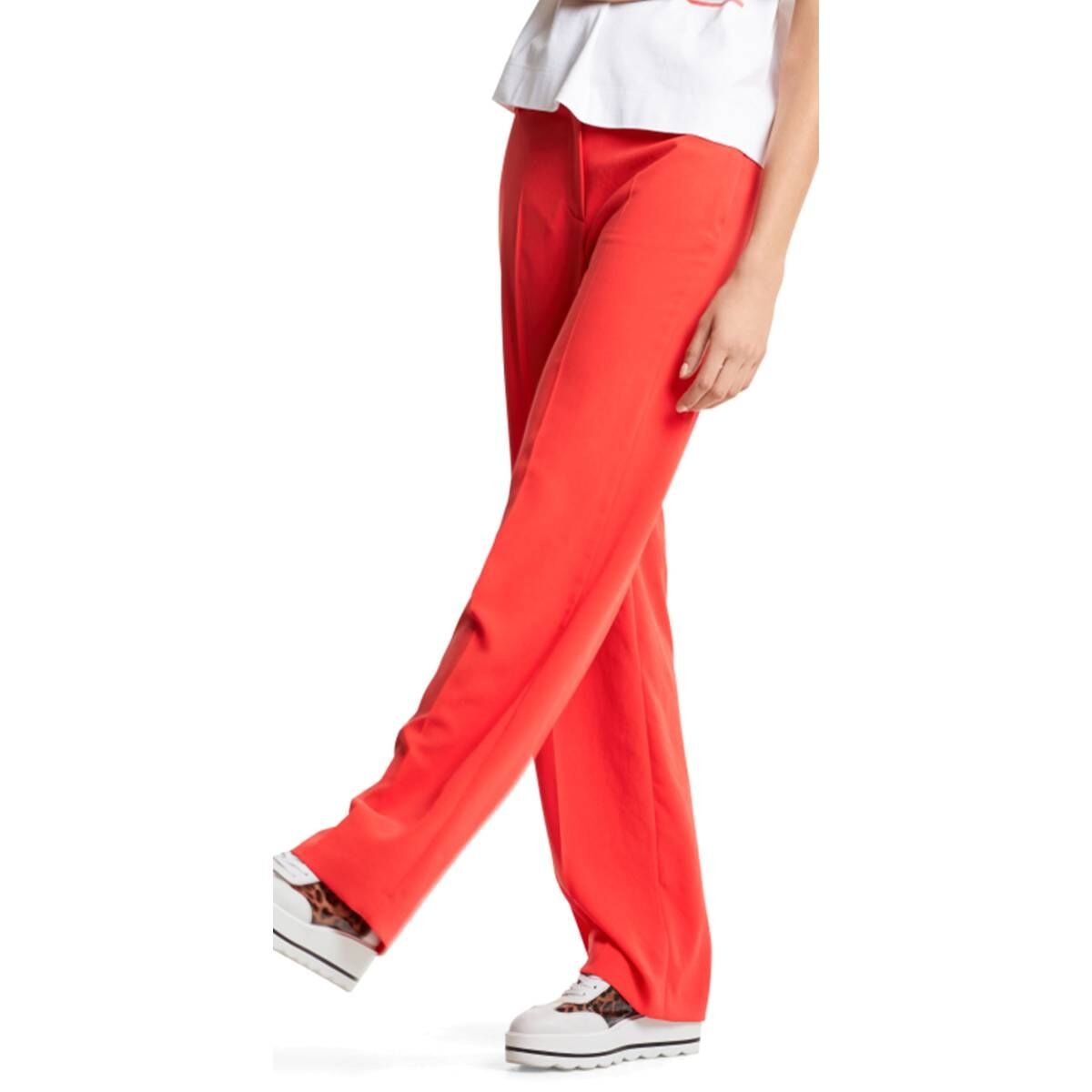 Marc Cain trousers LC8172 W29 red at Penninkhoffashion.com