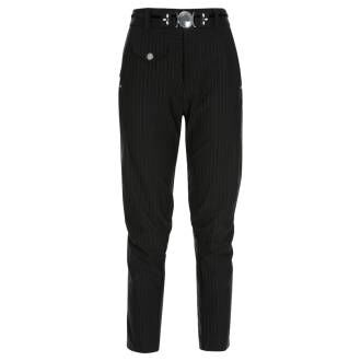 High trousers IN MOTION S01336 Black by Penninkhoffashion.com