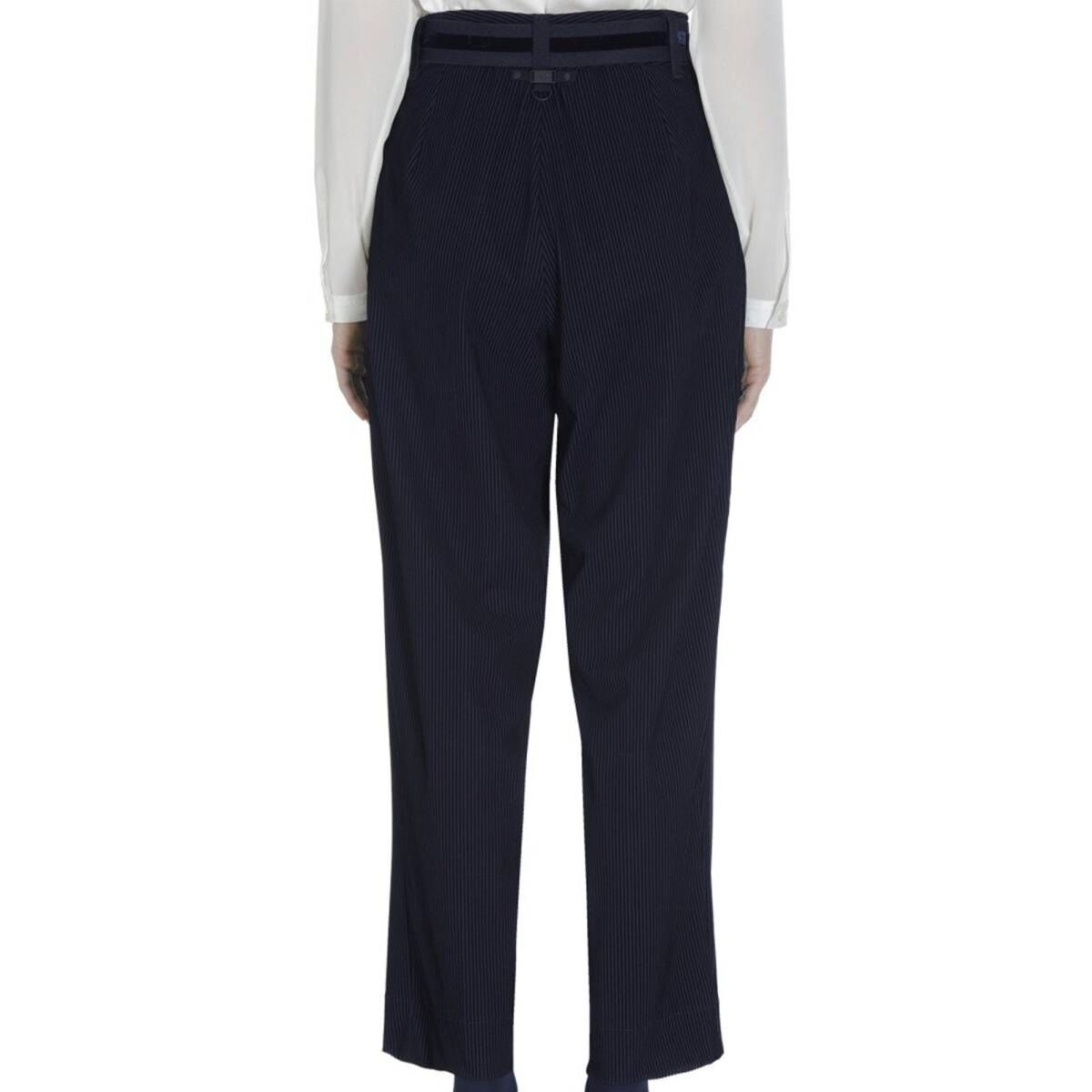 High trousers RATIONALE S01444 navy blue at Penninkhoffashion.com