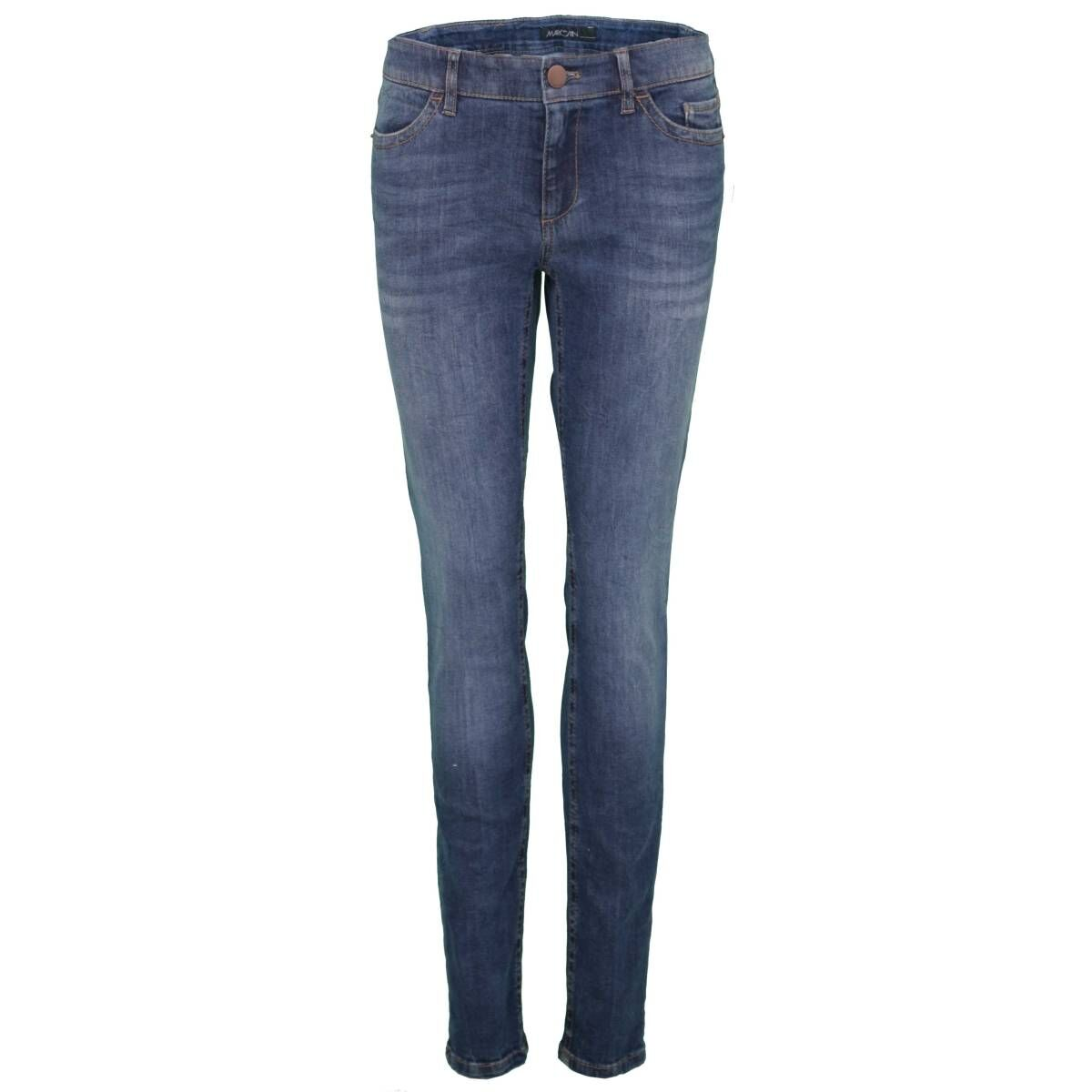 Sudan Make clear battery  Marc Cain trousers E8277 D01 Jeans Blue by Penninkhoffashion.com