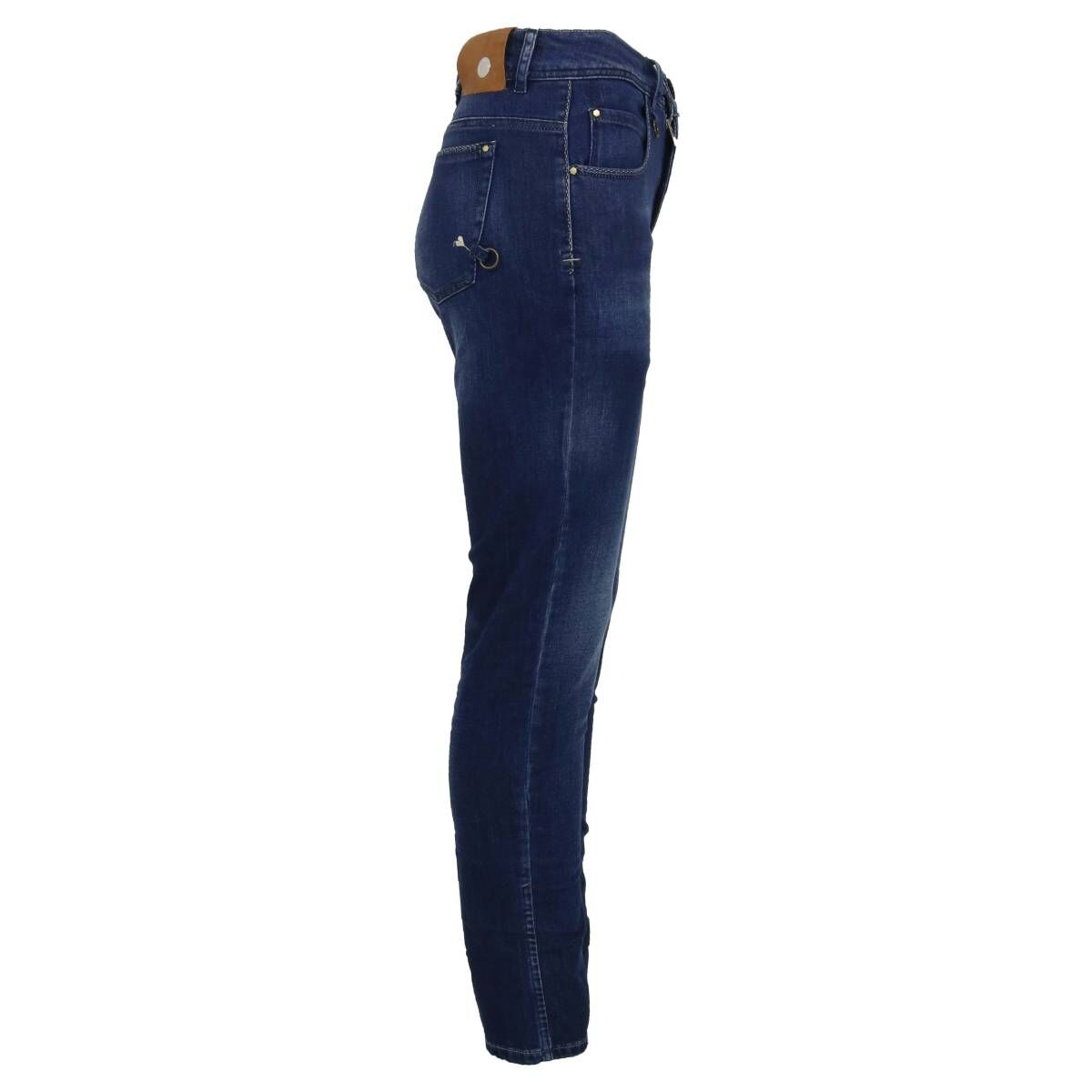 High trousers OUR-GIRLS 702228 jeans blue at Penninkhoffashion.com