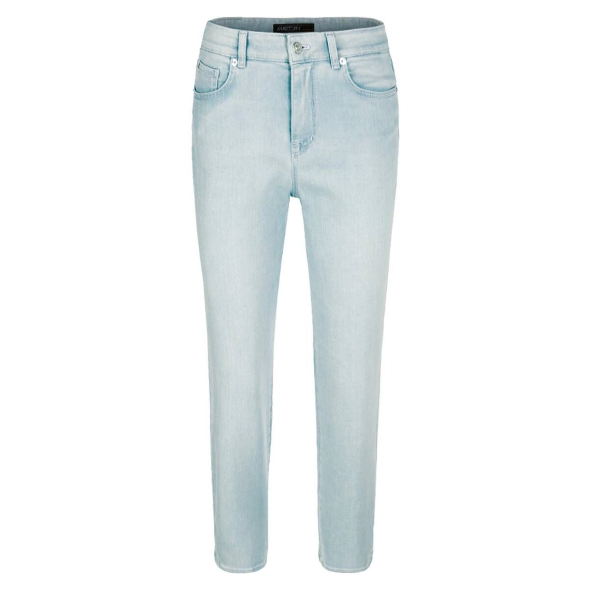 Negotiate corner more and more  Marc Cain trousers NS8208 D12 Jeans Blue by Penninkhoffashion.com