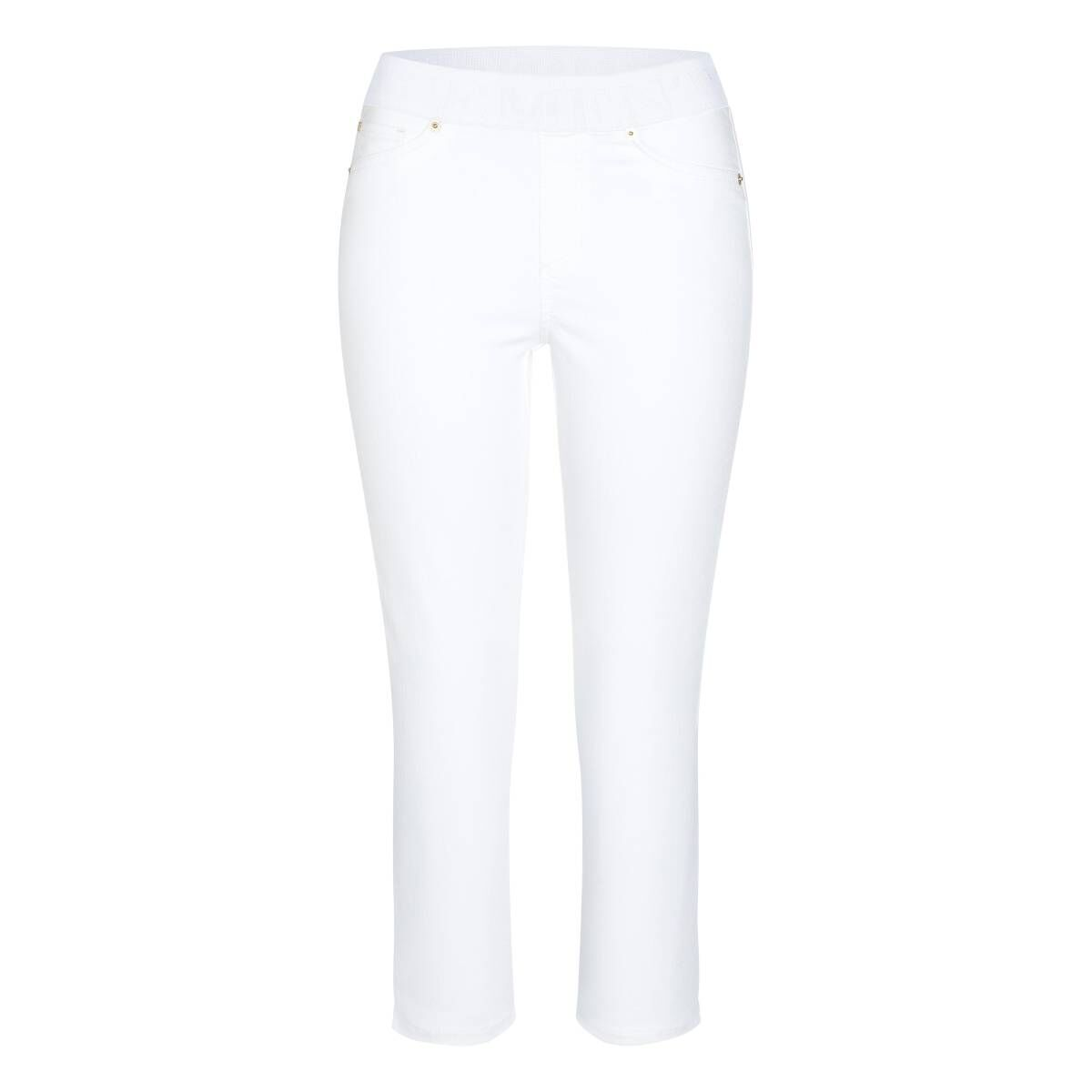 Cambio trousers PHILIA CAPRI 9048-0005-02 White by Penninkhoffashion.com