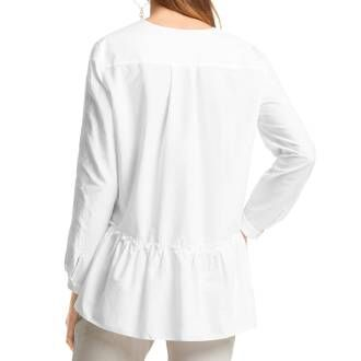 Marc Cain Sports blouses LS5112 W87 white at Penninkhoffashion.com