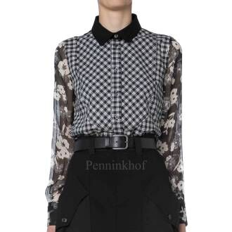 High blouses PROVOCATIVE 750668 Black by Penninkhoffashion.com