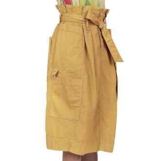 High skirts PLAY ACT 720346 Ocher yellow by Penninkhoffashion.com