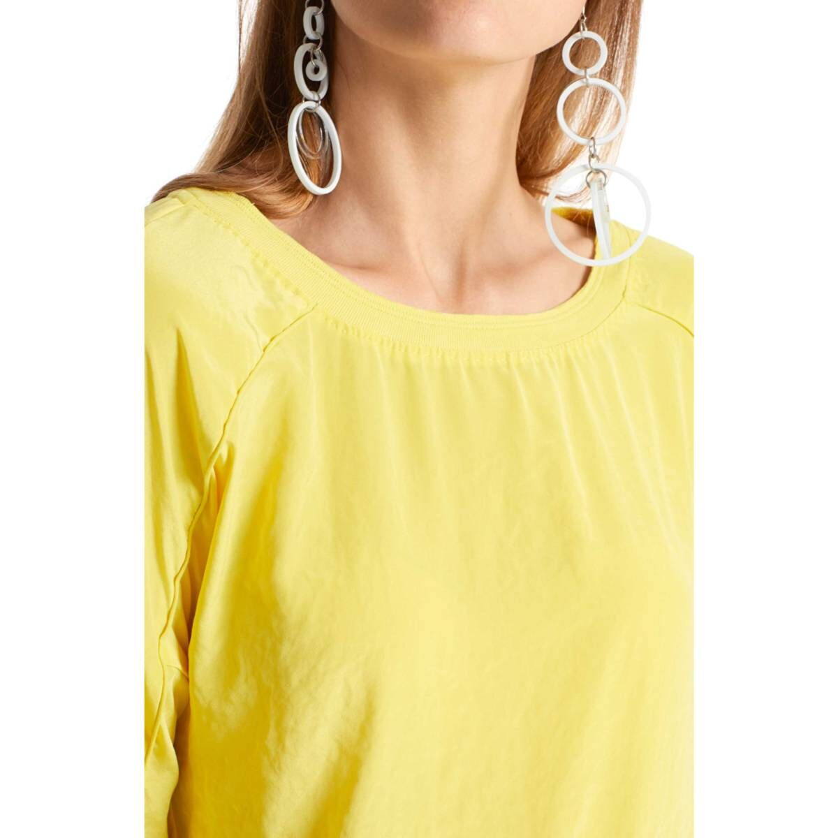 Marc Cain  shirts LS5503 W76 Yellow by Penninkhoffashion.com