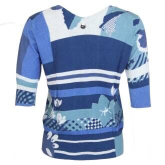 High pullovers SOMERSAULT 751474 Blue by Penninkhoffashion.com