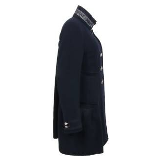 High coats PROVERB 732004 navy blue at Penninkhoffashion.com