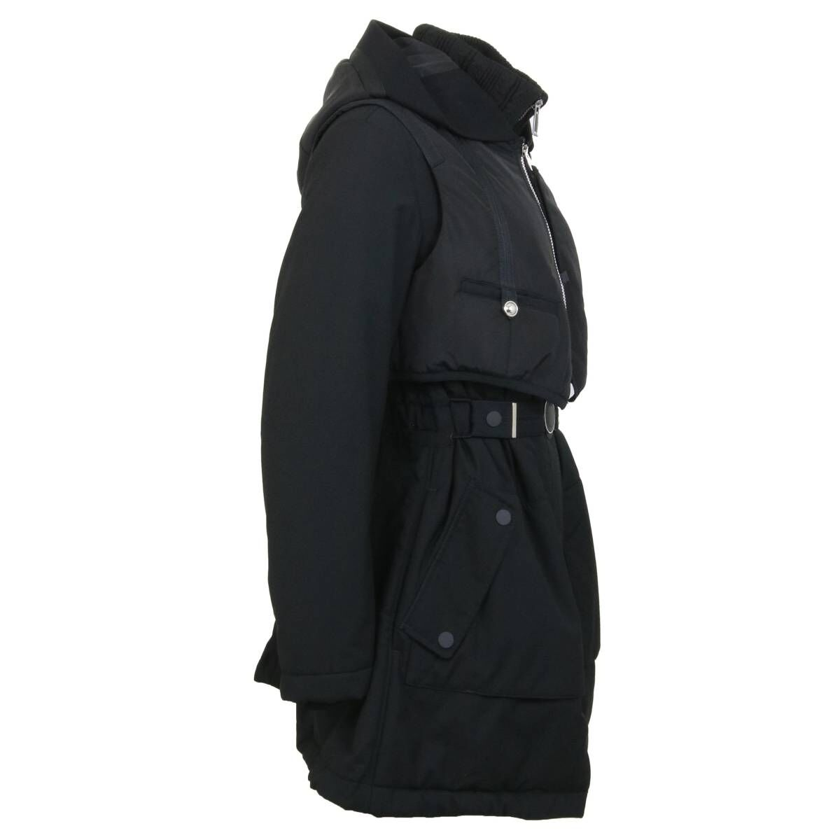 High coats FULL BLAST S35040 Black by Penninkhoffashion.com