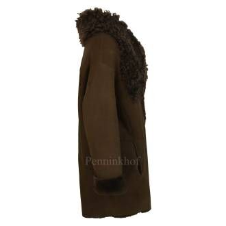 Annette Görtz coats SUE 31902 Brown by Penninkhoffashion.com