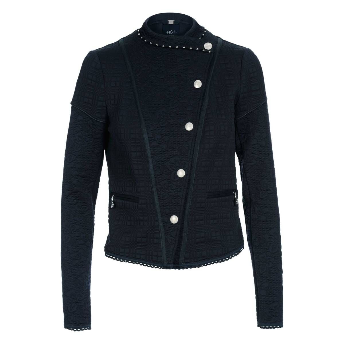 High blazers OUTWIT S55082 Navy blue by Penninkhoffashion.com
