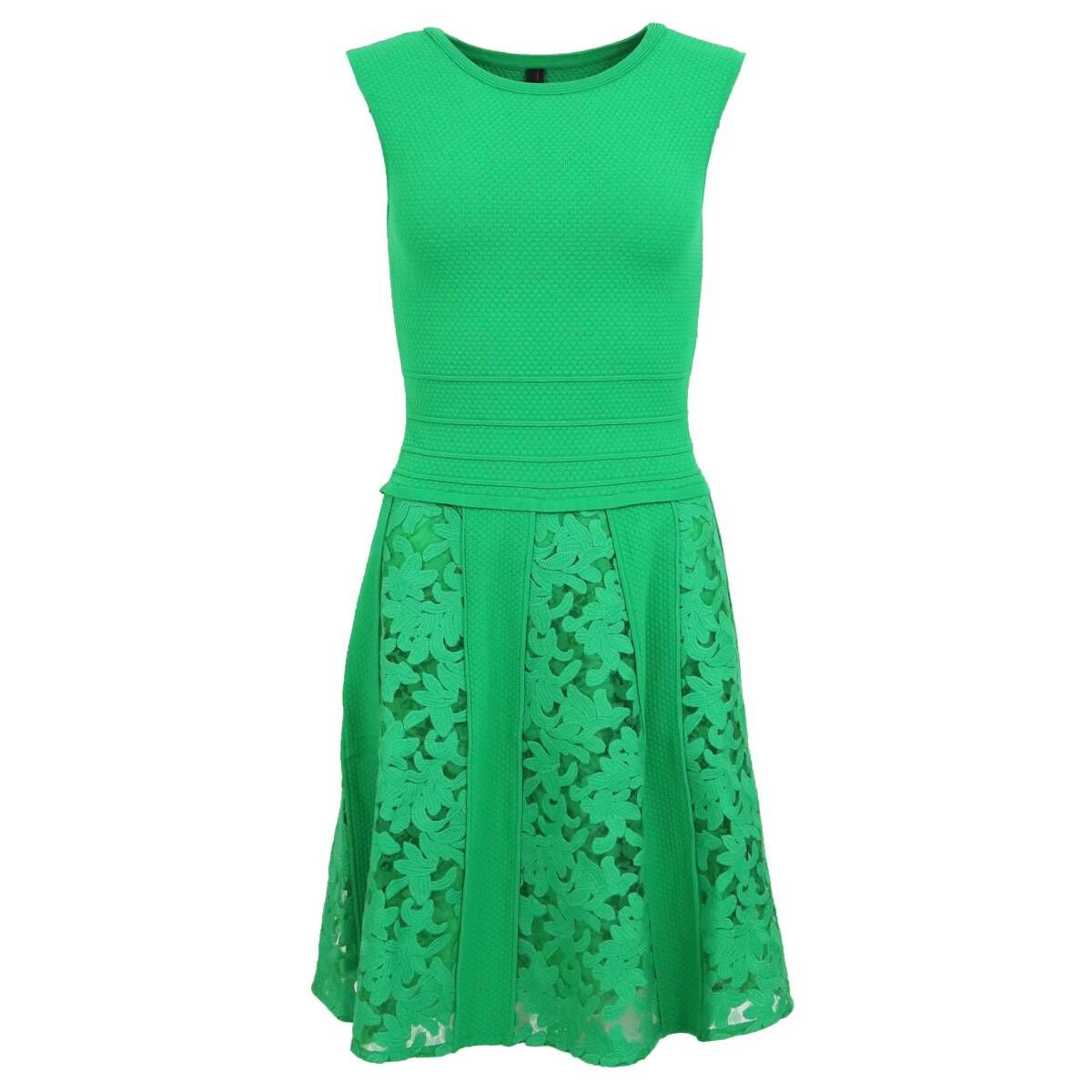 Marc Cain dresses MC14 M14 Green by Penninkhoffashion.com