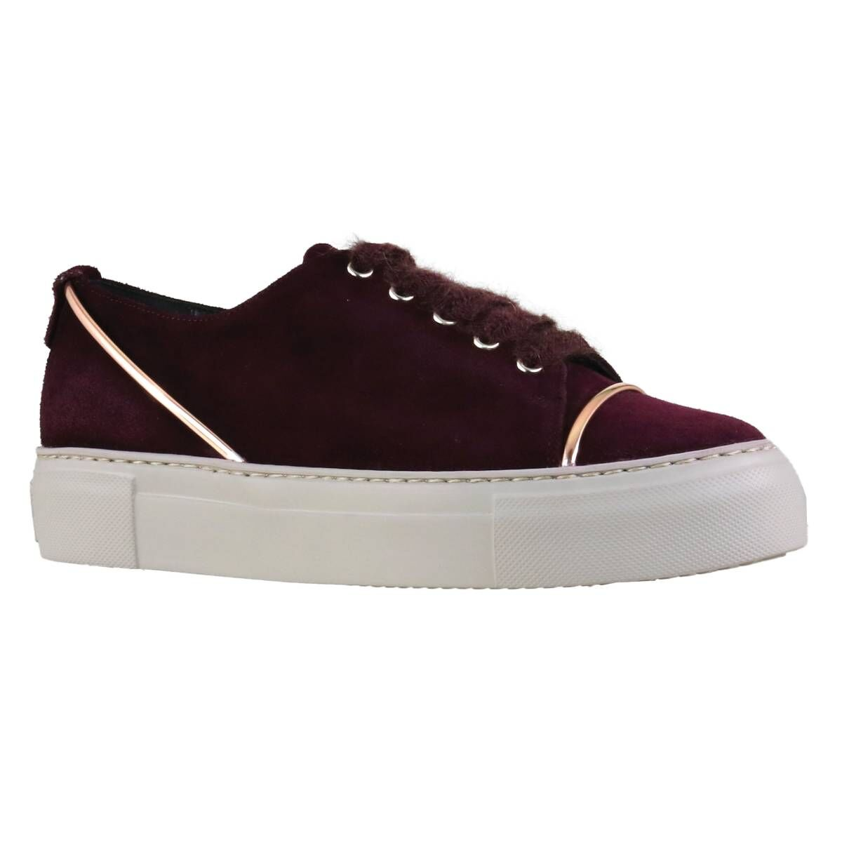 Attilio Giusti Leombruni sneakers D925139BGKO bordeaux red at Penninkhoffashion.com