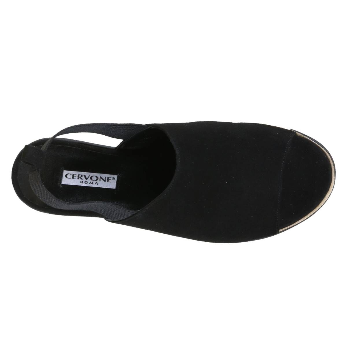 Cervone sandals 2052 black at Penninkhoffashion.com