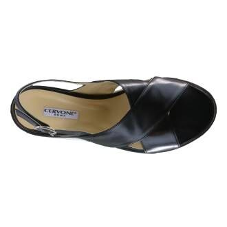 Cervone sandals 3041 Black by Penninkhoffashion.com