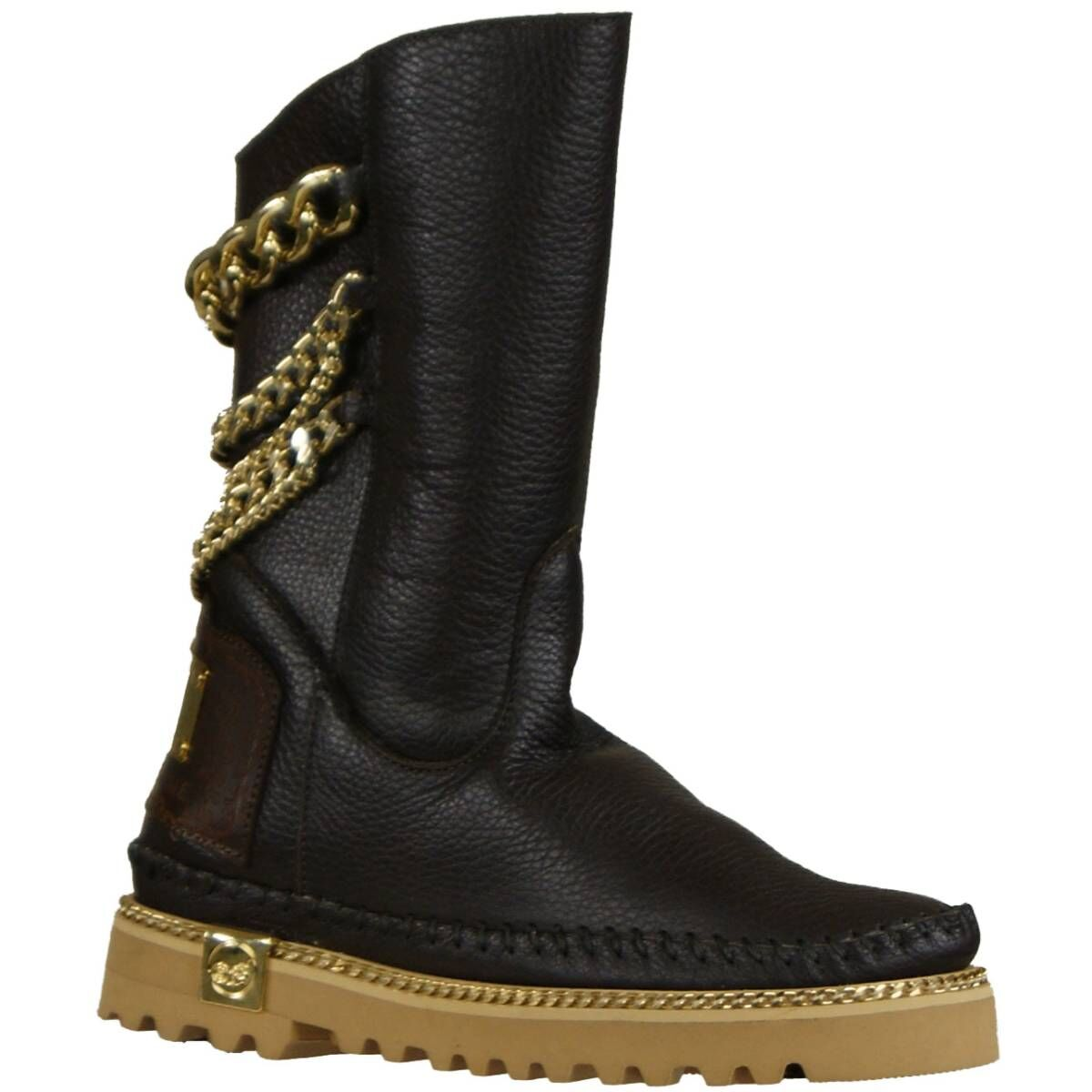 d507a097c4b Karma of Charme ankle boots FREEDOM dark brown at Penninkhoffashion.com