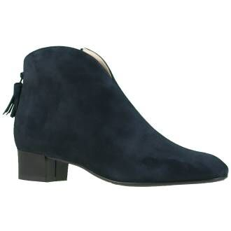 Alba Teci ankle boots 48972A194 navy blue at Penninkhoffashion.com