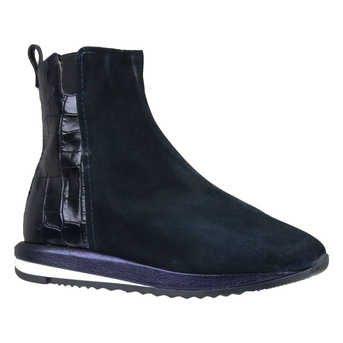 Voltan ankle boots 2V129 Navy blue by Penninkhoffashion.com