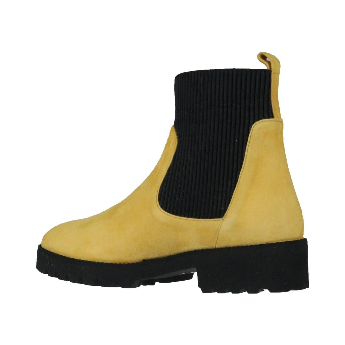 Cervone ankle boots 580 Ocher yellow by Penninkhoffashion.com