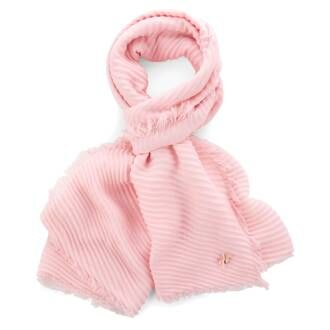Marc Cain  scarves PCB403 Z70 Pink by Penninkhoffashion.com